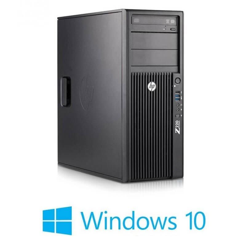 Workstation HP Z220 MT, Quad Core i7-3770, Quadro 2000 1GB 128-bit, Win 10 Home