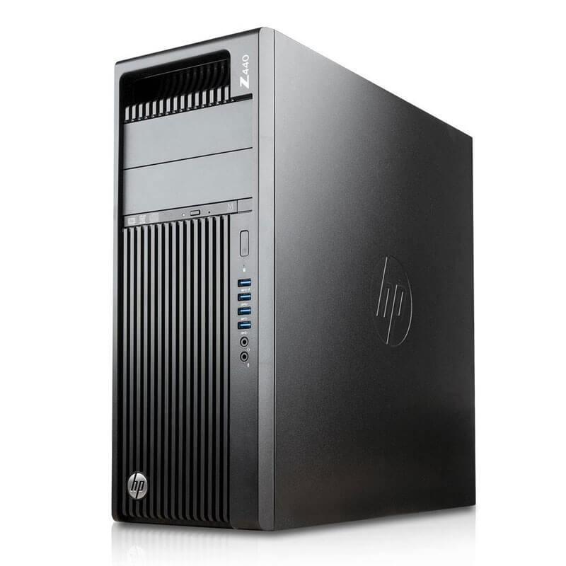Workstation Second Hand HP Z440, Xeon Quad Core E5-1620 v3, SSD, Quadro K4200