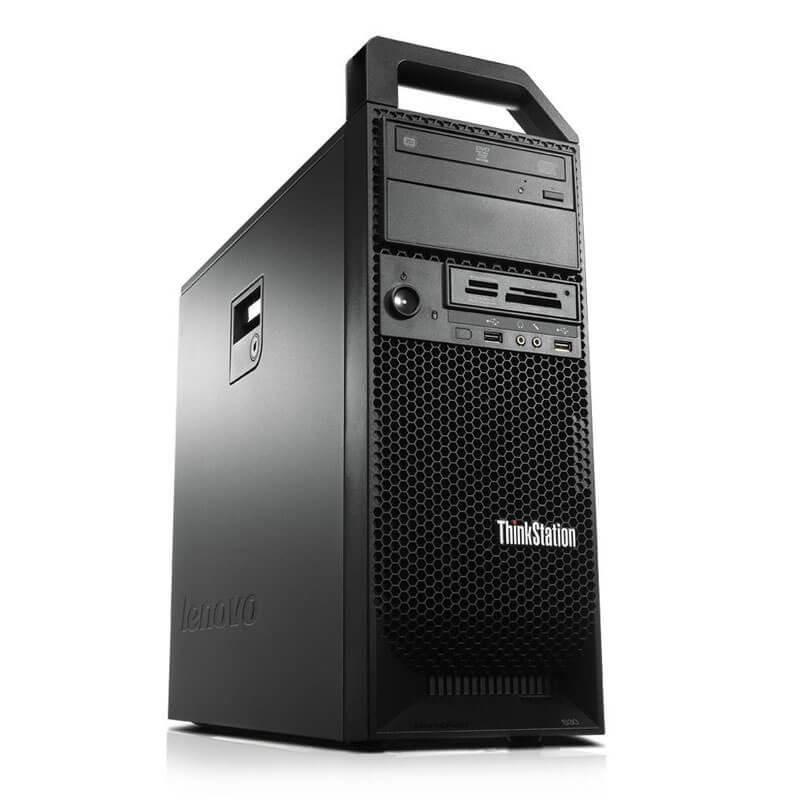 Workstation Second Hand Lenovo ThinkStation S30, Xeon E5-1620 v2, GeForce 605 DP