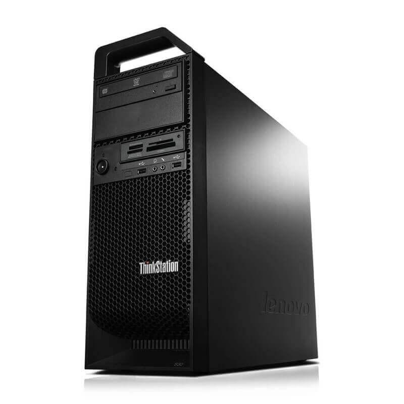 Workstation Second Hand Lenovo ThinkStation S30, Xeon E5-1620 v2, GeForce GT 240