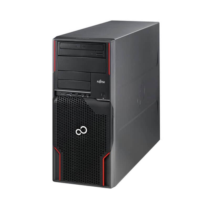Workstation SH Fujitsu CELSIUS W510, Quad Core E3-1225, 128GB SSD, GeForce GT 240