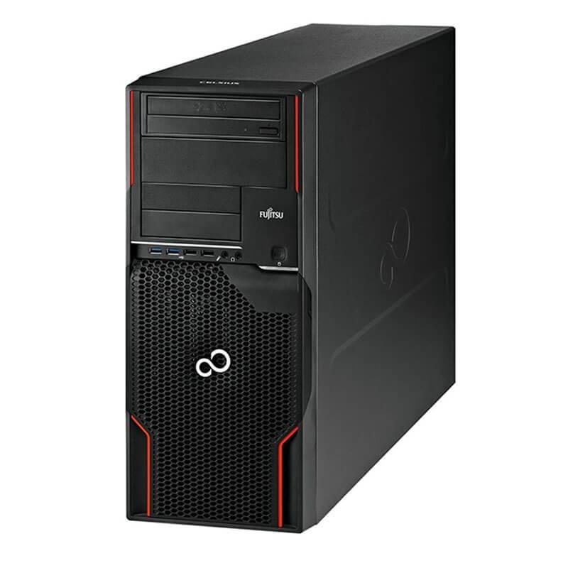 Workstation SH Fujitsu CELSIUS W520, Quad Core E3-1225 v2, Quadro K2000 2GB 128-bit