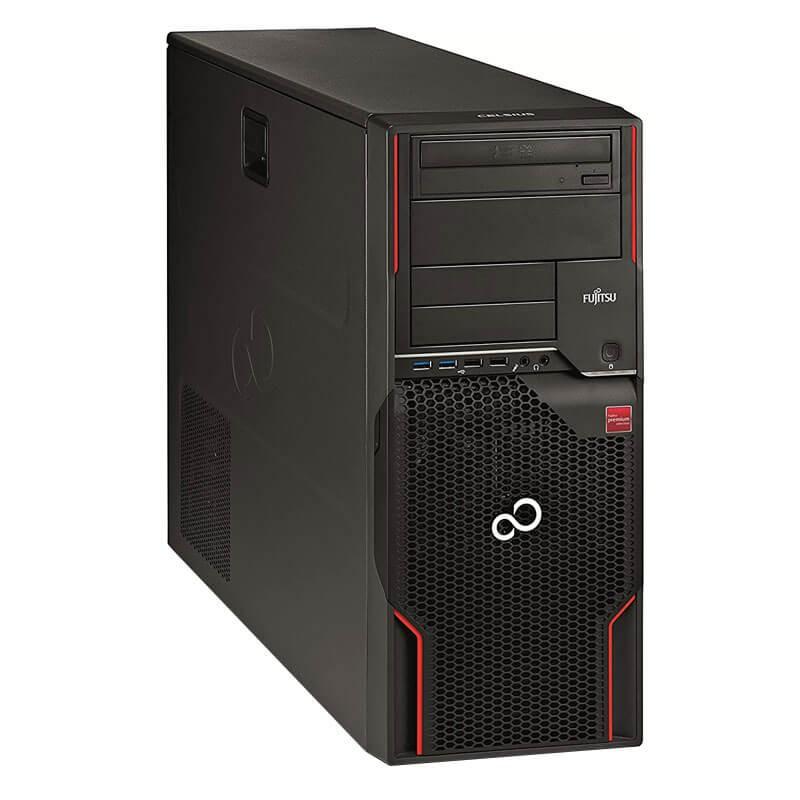 Workstation SH Fujitsu CELSIUS W520, Quad Core i7-3770, Quadro K2200 4GB 128-bit