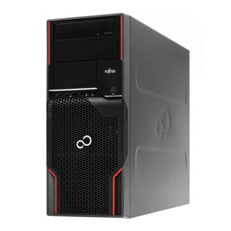 Workstation SH Fujitsu CELSIUS W520, Xeon E3-1225 v2, 128GB SSD, GeForce GT 240