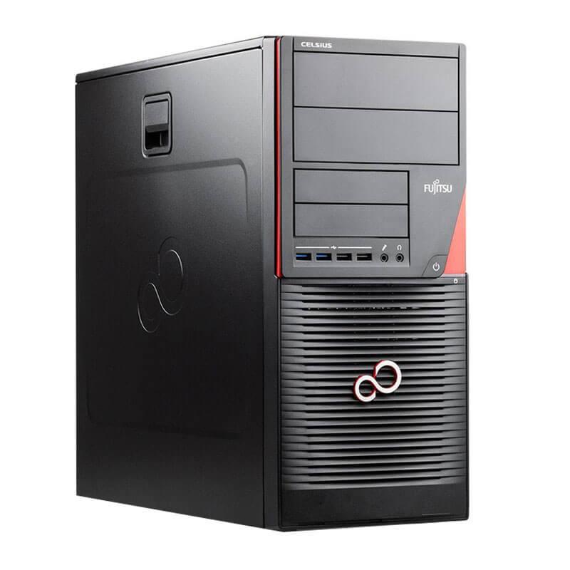 Workstation SH Fujitsu CELSIUS W550n, Xeon E3-1220 v5, 512GB SSD, Quadro 4000