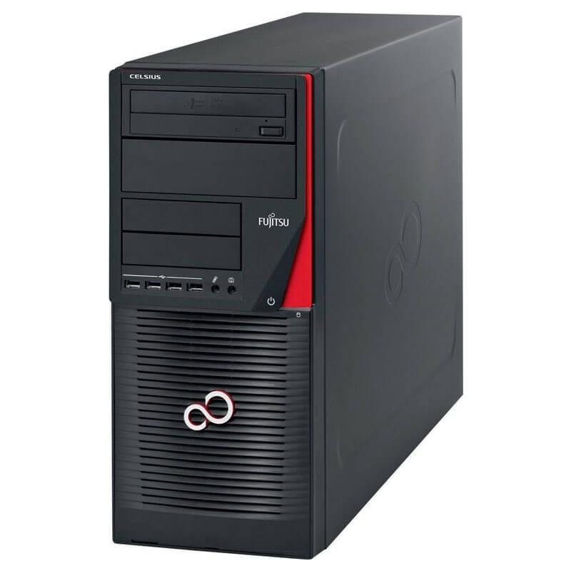 Workstation SH Fujitsu CELSIUS W550n, Xeon E3-1220 v5, 512GB SSD, Quadro M2000